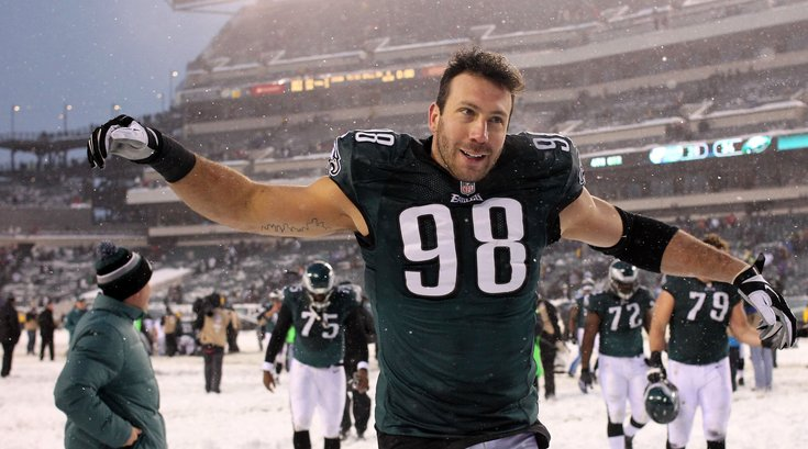 Connor Barwin eagles home philadelphia