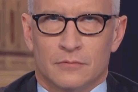 Anderson Cooper Eye Roll