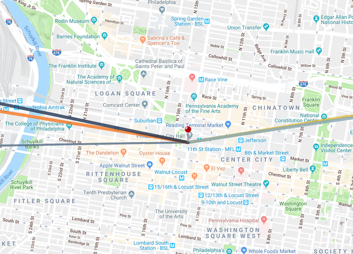Phillyhenge April 2019 Map