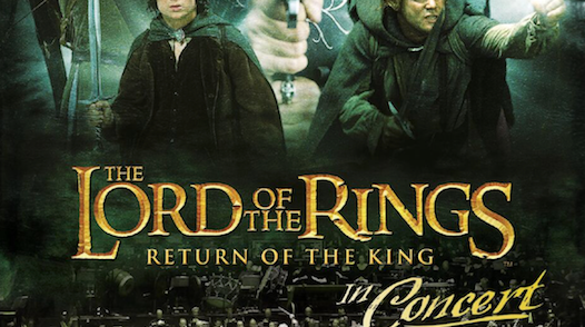 Lord of the Rings in Concert poster