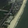 Delaware man kite boarding