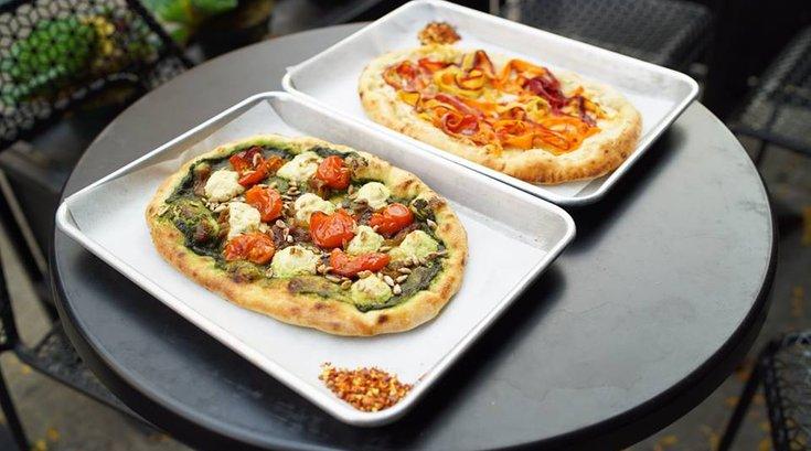 double zero vegan pizza