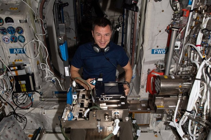 NASA astronaut voting Pennsylvania