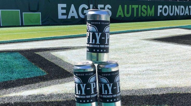 Eagles goose island beer