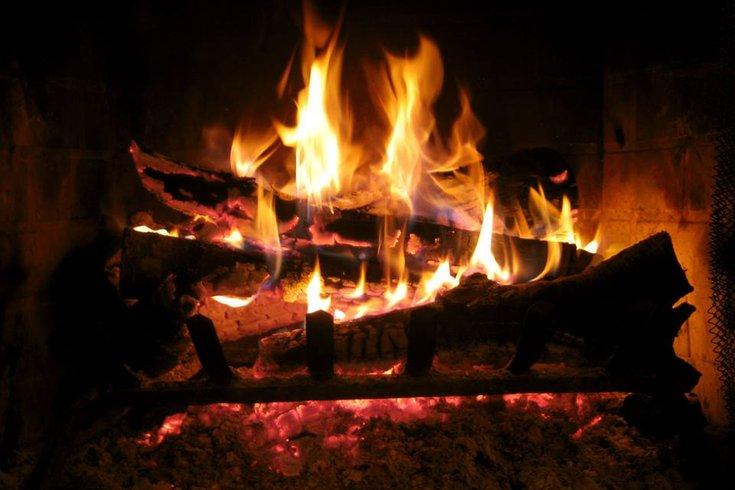 devil's den fire place