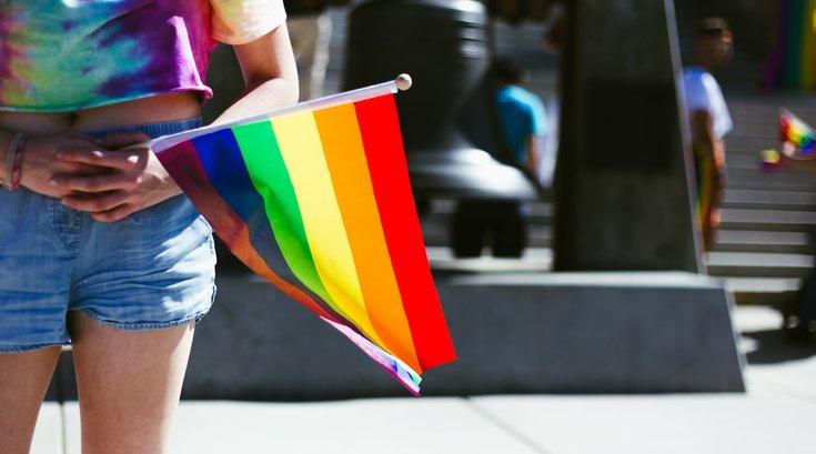 Reading Pride flag canceled