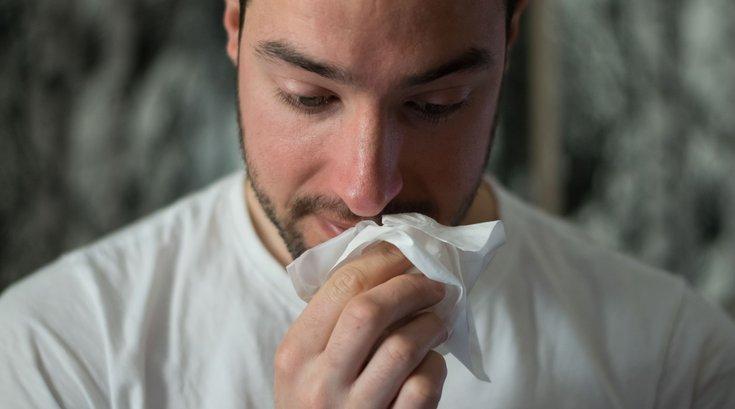 Antibiotics influenza cold virus bacteria