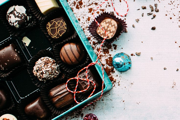box of fancy chocolates