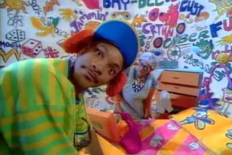 Fresh prince screen shot