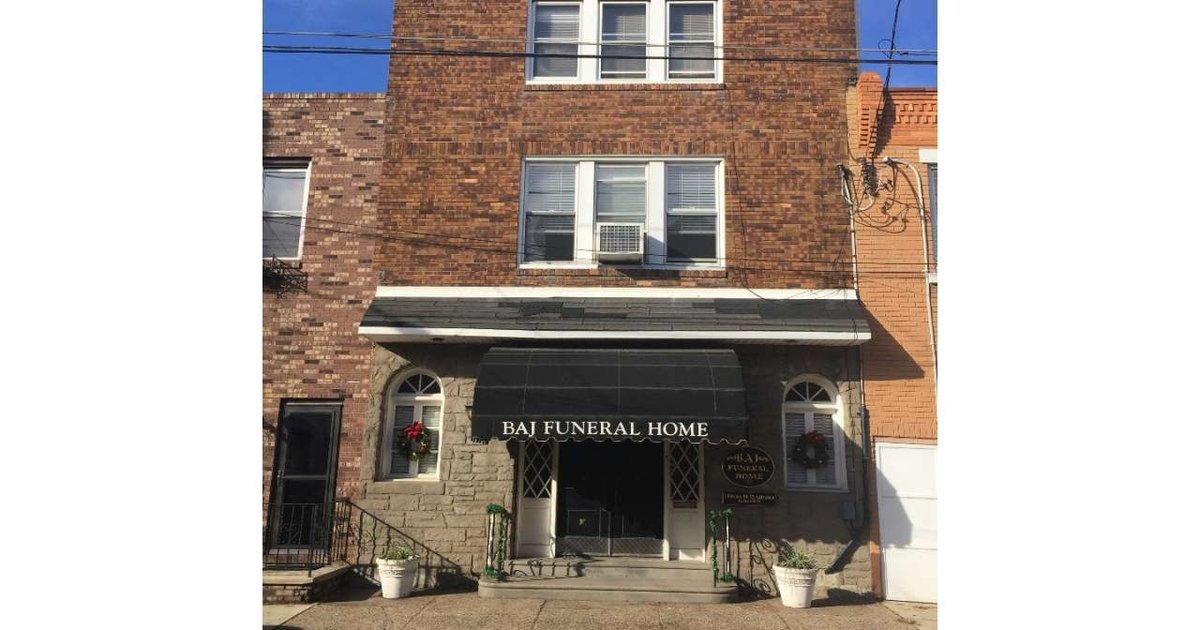 Would you live in a former funeral home?
