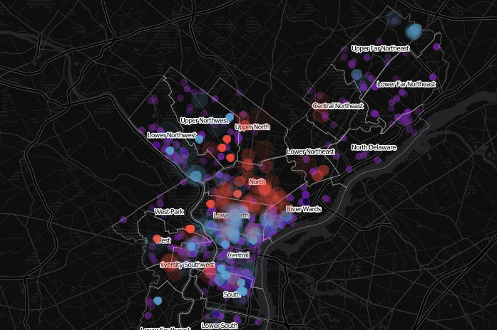 Philly map demolitions