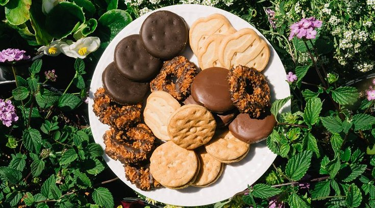 girl scout cookies fb