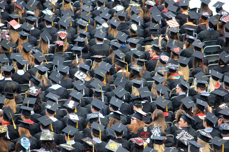 New Jersey outdoor graduations
