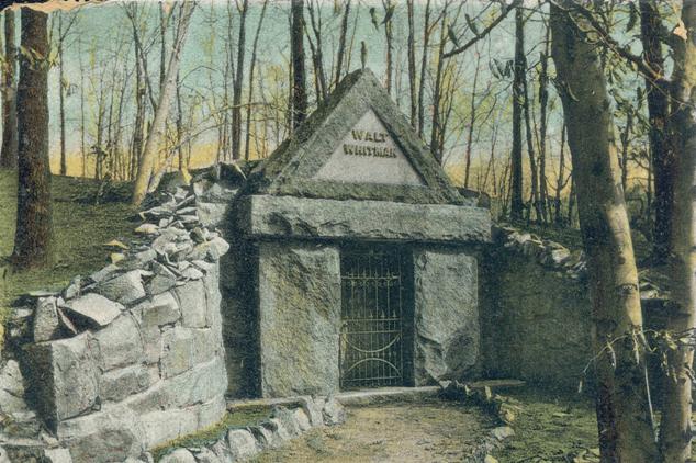 Whitman grave