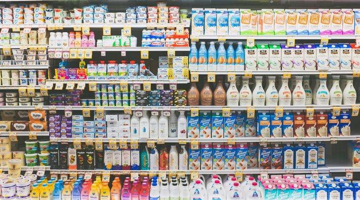 grocery store shelves scanning app unsplash