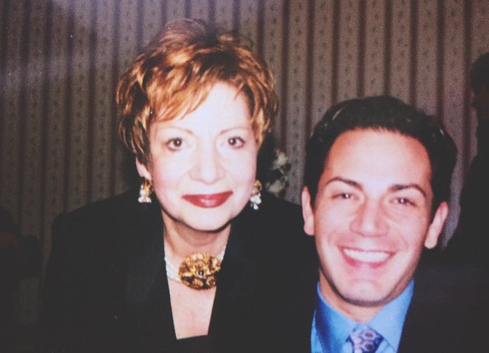 Kevin Gatto and Mom