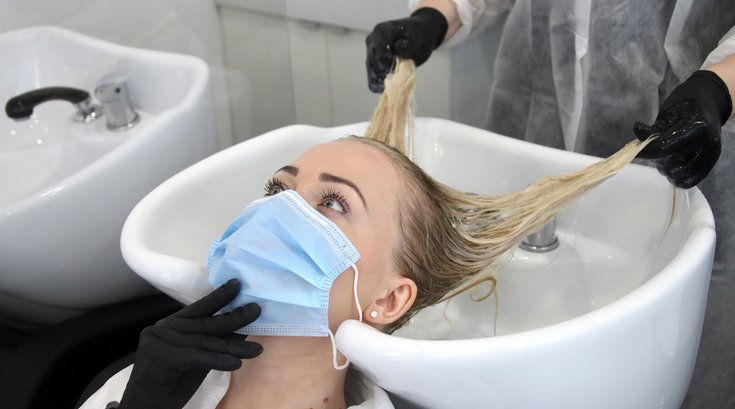 hair salon reopening NJ