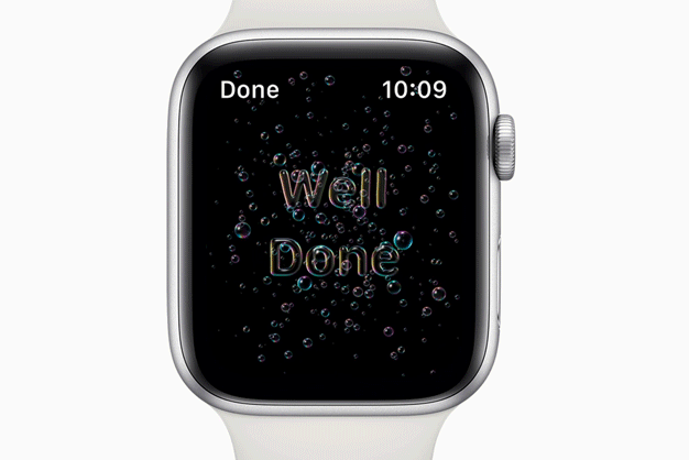 hand washing apple update