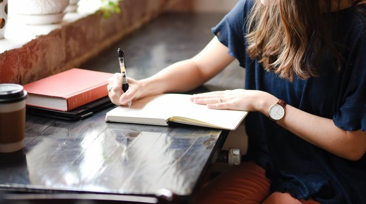 journaling as a way to practice self-care