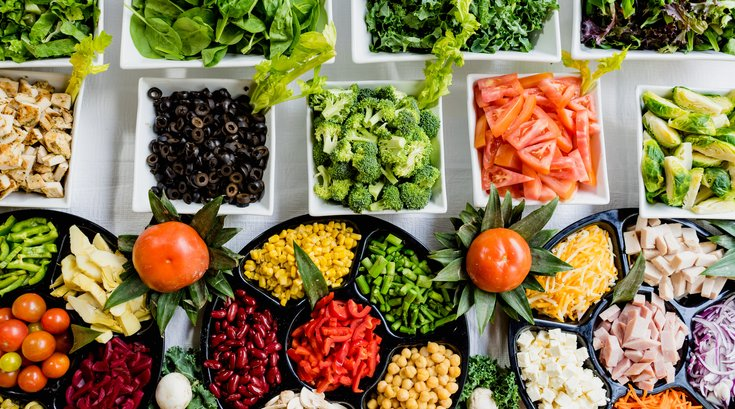 Healthy eating depression study