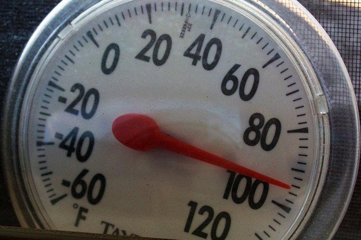 heat wave philly region
