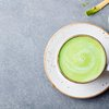Matcha Green Tea on Counter
