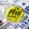 Radon imagery hazardous gas