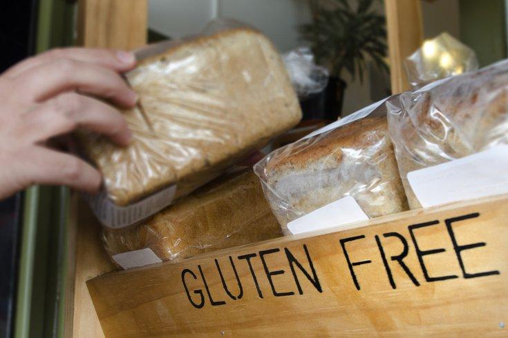 Gluten free bread at store