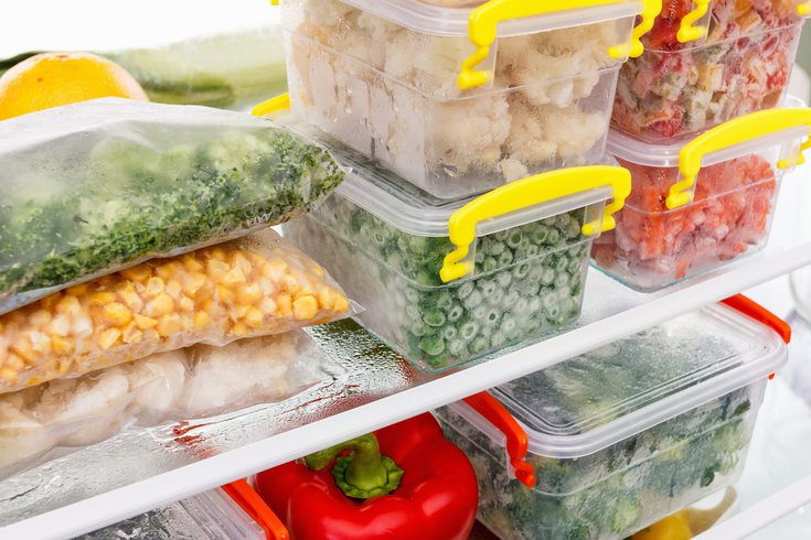 Food storage in the fridge