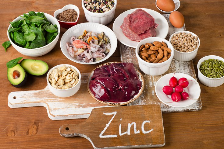 Sources of dietary zinc