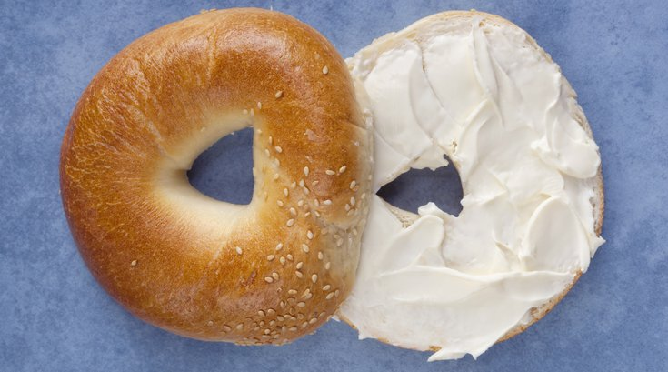 Bagel with Cream Cheese 1