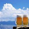 Outdoor summer beer