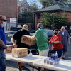 Limited - IBEW Food drive load into car