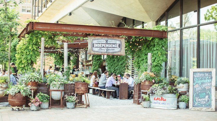Independence Beer Garden to open in April