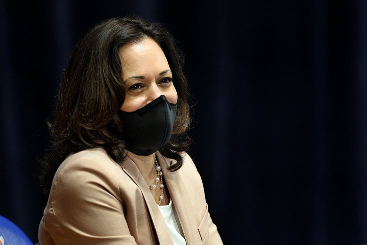 kamala harris philly