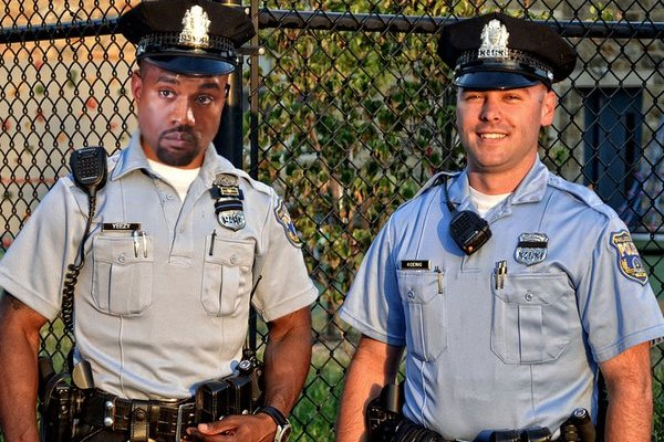 Kanye West Philly cop