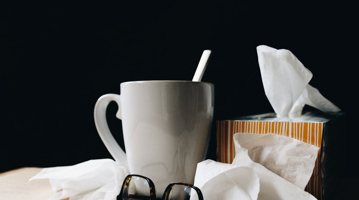 Tissues and Tea Photo