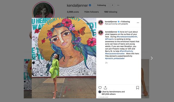 Kendall Jenner Instagram Ben Simmons