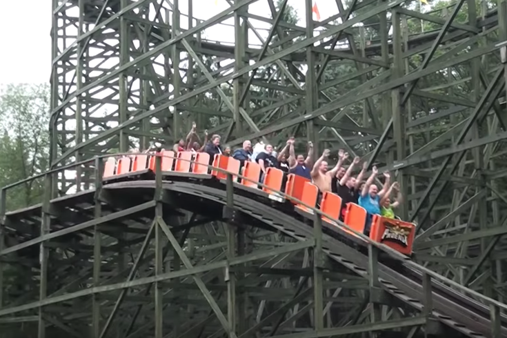 Knoebels Phoenix Named Second Best Roller Coaster In The Country By