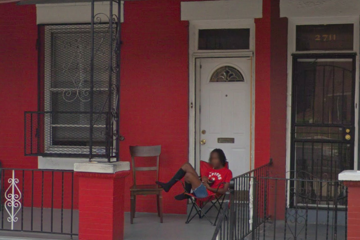 kyle lowry house north philly google street view