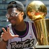 Kyle Lowry raptors trophy NBA