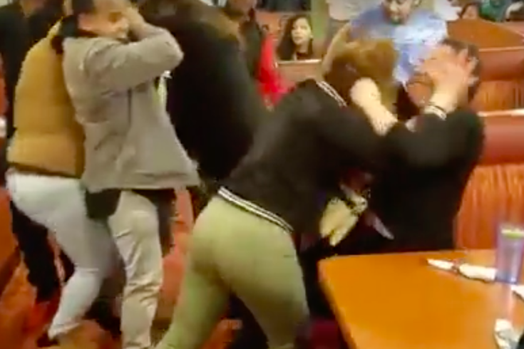 Lancaster County diner fight