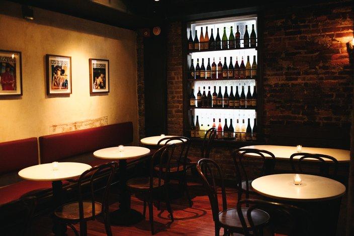 Le Caveau on second floor of The Good King Tavern