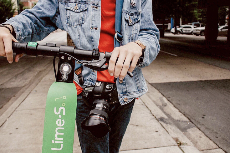 lime electric scooters