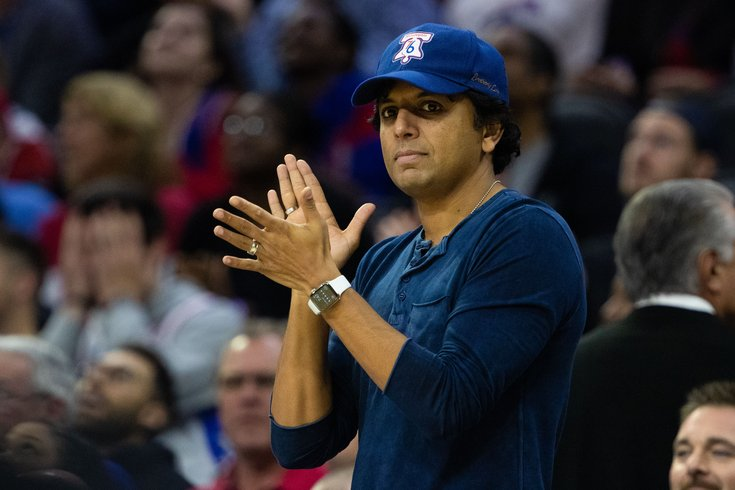 Image result for m night shyamalan sixers