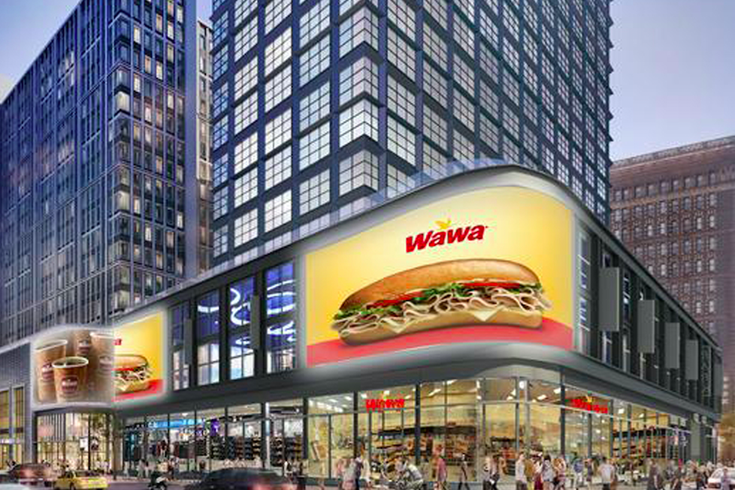 hey philadelphia  there u0026 39 s another wawa coming to market street