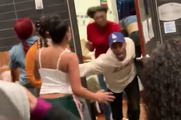McDonald's Atlantic City Fight video