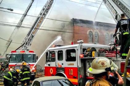 Memorial Day Fire