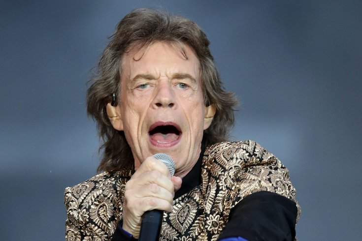 Mick Jagger New Jersey