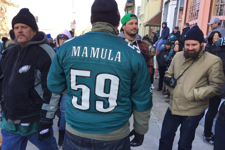 38967f23127 PHOTOS: The most random and unusual Eagles jerseys spotted at the ...